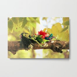 FAIRY Scout in Love Metal Print