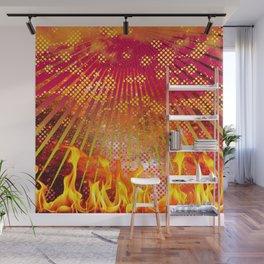 Celestial Fire Wall Mural