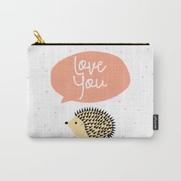 Hedgegog love Carry-All Pouch