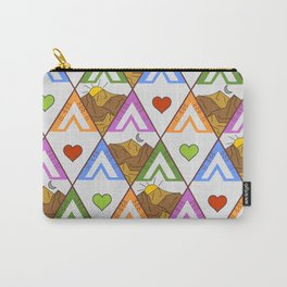 Backpacking nature #pattern Carry-All Pouch