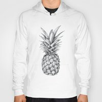 pineapple Hoodies featuring Pineapple by Sibling & Co.