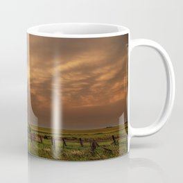 Afterglow - Clouds Glow After Storms at Sunset Coffee Mug