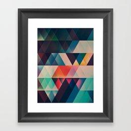 jyst ynyff Framed Art Print