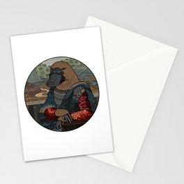 Platypus Mona Lisa Stationery Cards