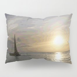 Chasing Sunsets in Hawaii Pillow Sham
