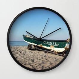Pacific Escape Wall Clock