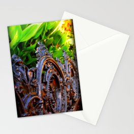 Delicate Metal Stationery Cards