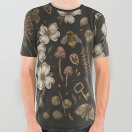 Nature Walks All Over Graphic Tee