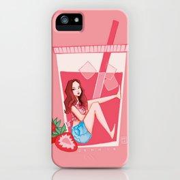 Blackpink Strawberry Jennie iPhone Case