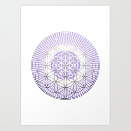 NAKED GEOMETRY no 1 Art Print