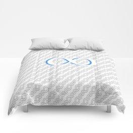 Infinite loop Comforters
