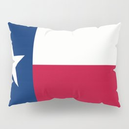 Lone Star ⭐ Texas State Flag Pillow Sham