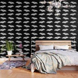 Skeletal Bat - inverted Wallpaper
