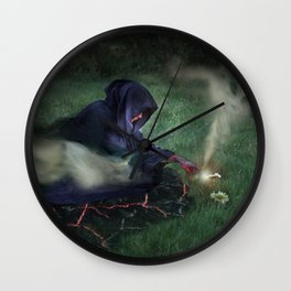The Epitome of Man Wall Clock