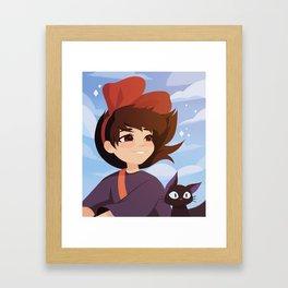 Kiki's Delivery Service Framed Art Print