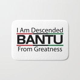 RBG/Pan-African Bantu Descended Bath Mat