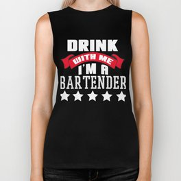drink with me Shots Party Alcohol trust me Bartender Beer Waiter Liquor Bistro Glass Tequila Biker Tank