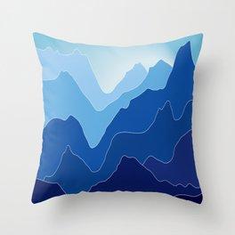 Notch Throw Pillow