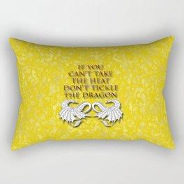 Tickle the Dragon Rectangular Pillow