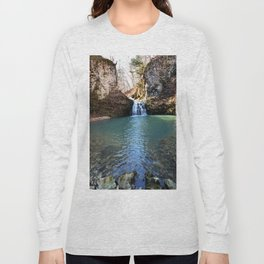 Alone in Secret Hollow with the Caves, Cascades, and Critters, No. 21 of 21 Long Sleeve T-shirt