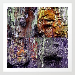 Archetypal Structures and Forms Art Print