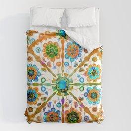 Mandala Flower Comforters