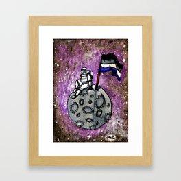 Ace Astronaut Framed Art Print