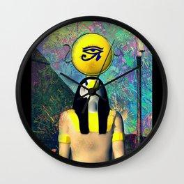 Horus, God of Egypt Wall Clock