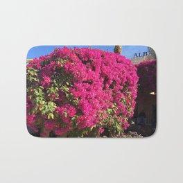 Hotel Flower Garden Bath Mat