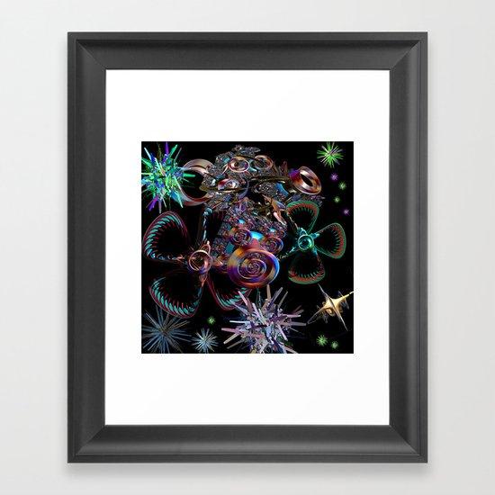 Recovering the Satellites Framed Art Print