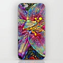 Lily multicolored iPhone Skin