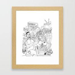 2013 Soul Music Room  Framed Art Print