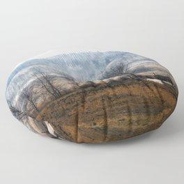 Ground Fog Floor Pillow