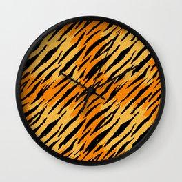 Tiger skin Wall Clock