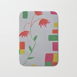 Flower Geometry Bath Mat