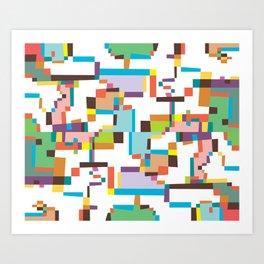 Reflections 3 Art Print