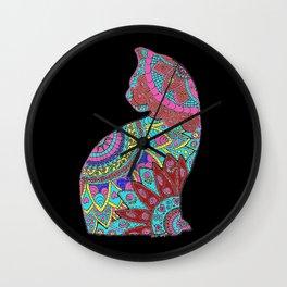 Koloured Kat Wall Clock