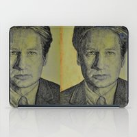 mulder iPad Cases featuring Mulder  by Jenn