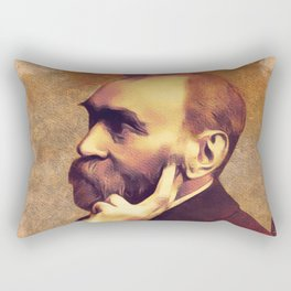 Alfred Nobel, Inventor Rectangular Pillow