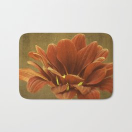 Vintage Chrysanthemum Bath Mat