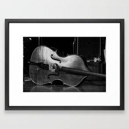Brian Blade and the Fellowship Band bass Framed Art Print