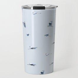 Blue Blue Heron Travel Mug