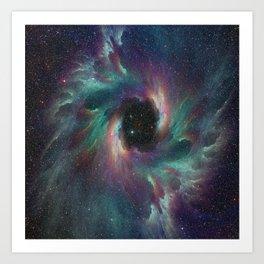 Vortex Nebula Art Print