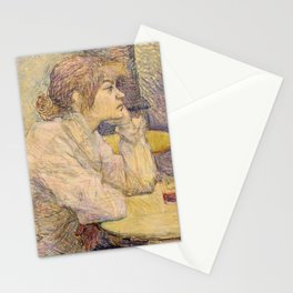 "Henri de Toulouse-Lautrec ""The Hangover (Suzanne Valadon)"" Stationery Cards"