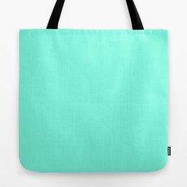 Green Mint Tote Bag