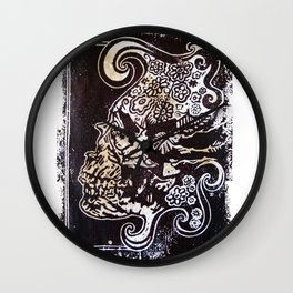 Crâne Wall Clock