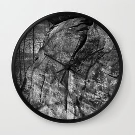 A view of the rocks Wall Clock