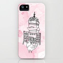 Le beau coq iPhone Case