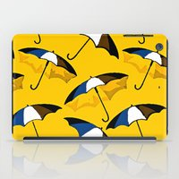 umbrella iPad Cases featuring Umbrella  by Saundra Myles