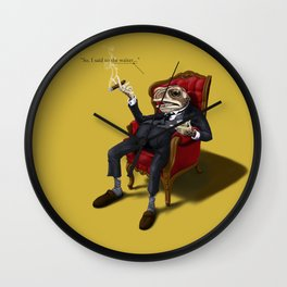 Fly in My Soup (Colour) Wall Clock